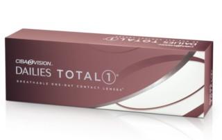 Dnevna kontaktna sočiva - Dailies Total 1